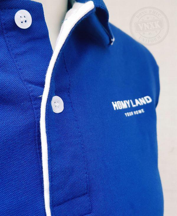Áo thun đồng phục công ty Homyland