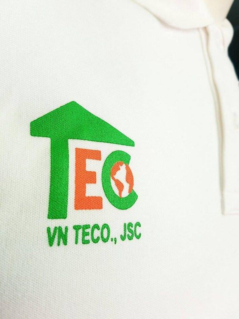áo thun đồng phục công ty VNTECO