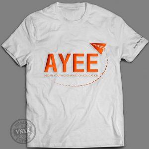 Áo thun đồng phục công ty AYEE WHITE