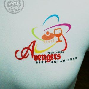 Áo thun đồng phục nhà hàng Food and Drink Avenger