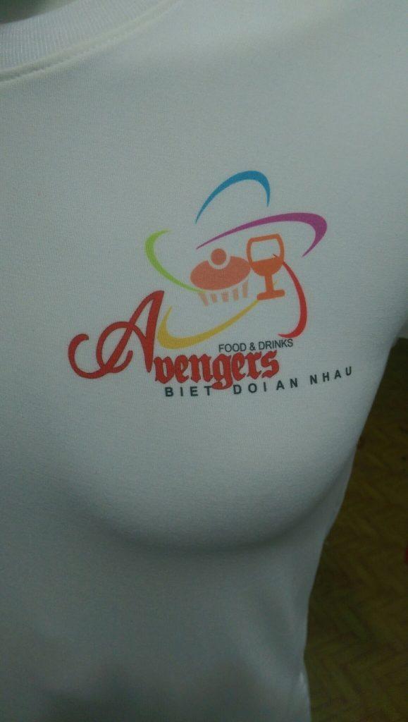 Áo thun đồng phục Food and Drink Avenger