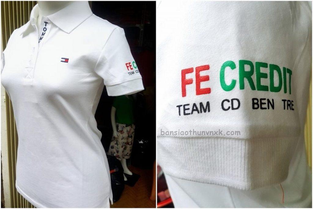 áo thun đồng phục FE Credit