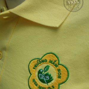 Áo thun đồng phục trường mầm non Hoa Mai