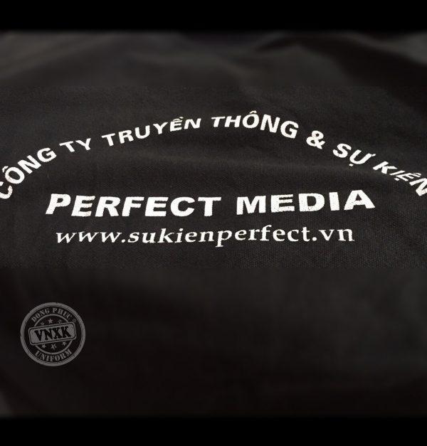 Áo thun đồng phục công ty Perfect Media