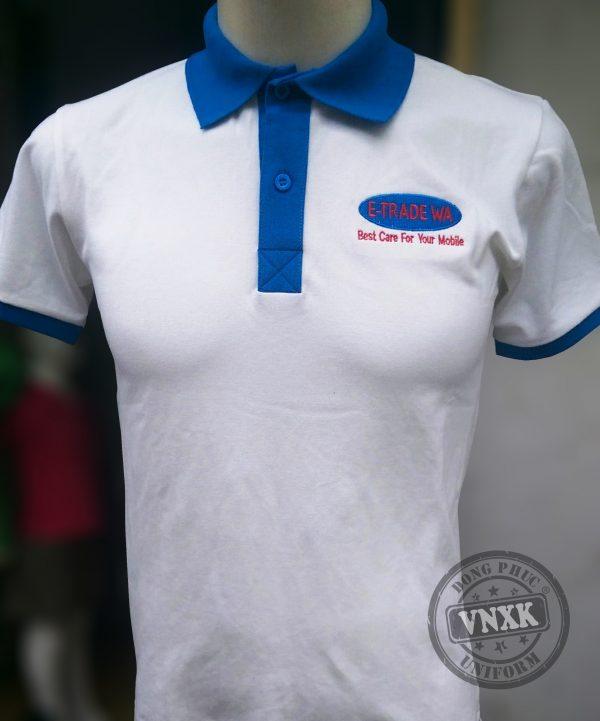 Áo thun đồng phục công ty Tan Ly mobile