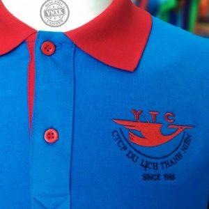 Áo thun đồng phục công ty YTC