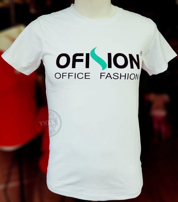 Áo thun đồng phục shop thời trang Ofision