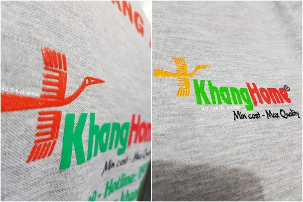 áo thun đồng phục KhangHome trang trí nội thất