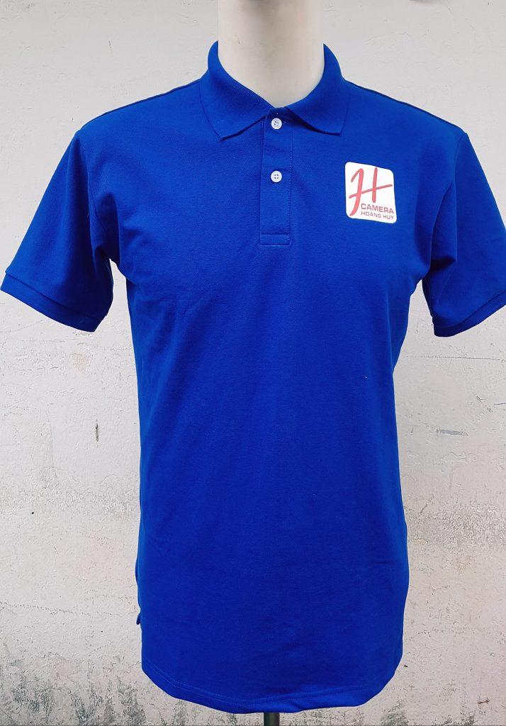 áo thun đồng phục công ty Hoàng Huy Camera