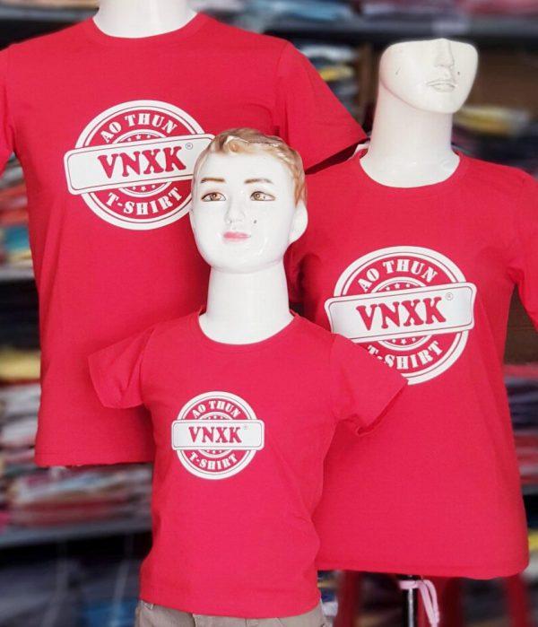 áo thun đồng phục gia đình VNXK