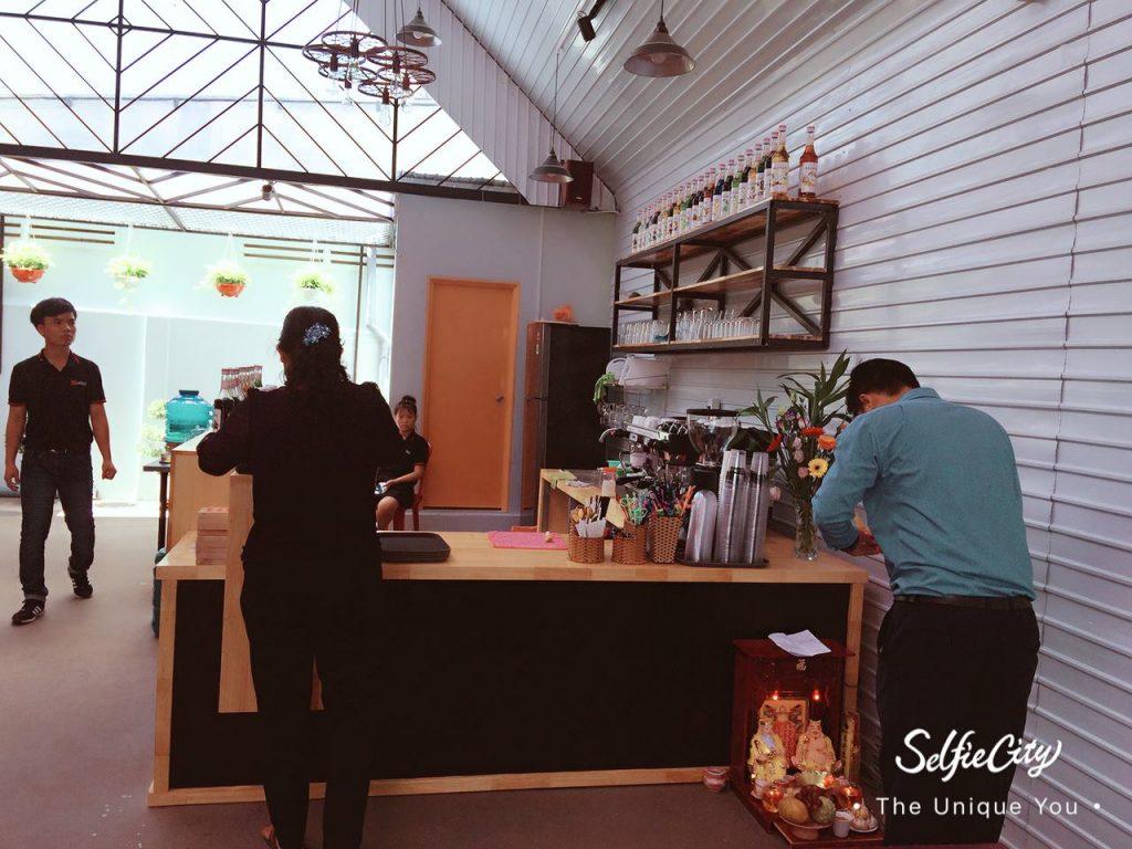 Áo thun đồng phục xưởng Coffee