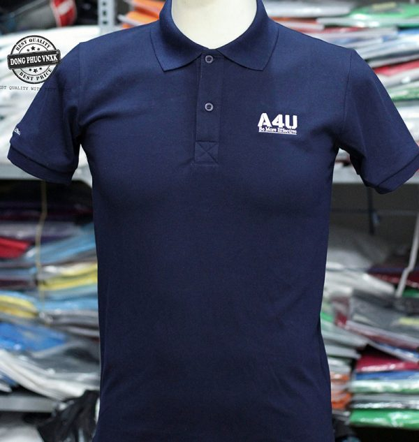 Áo thun đồng phục cong ty A4U