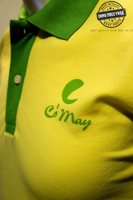 áo thun đồng phục công ty gạo cỏ may
