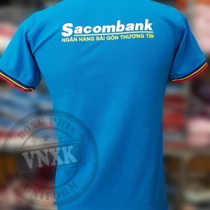 áo thun đồng phục ngân hàng sacombank ver 3