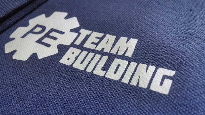áo thun đồng phục công ty PE team building 2