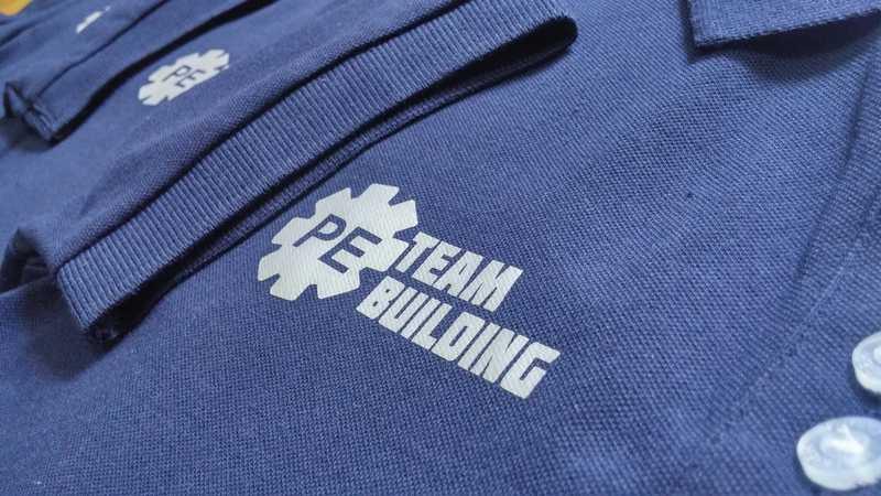 áo thun đồng phục công ty PE team building