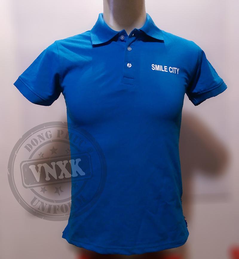áo thun đồng phục công ty smile city