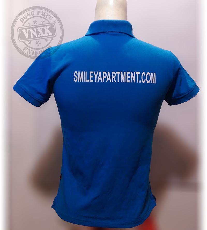 áo thun đồng phục công ty smile city 2