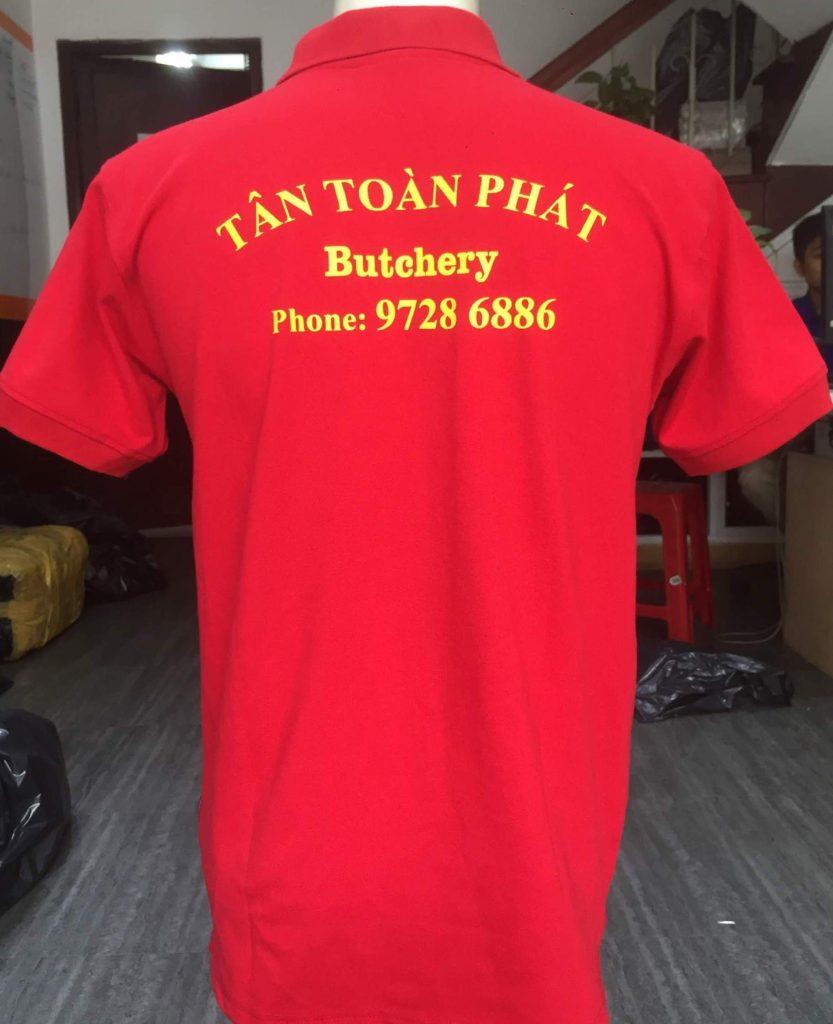 áo thun đồng phục cửa hàng Tân Toàn Phát