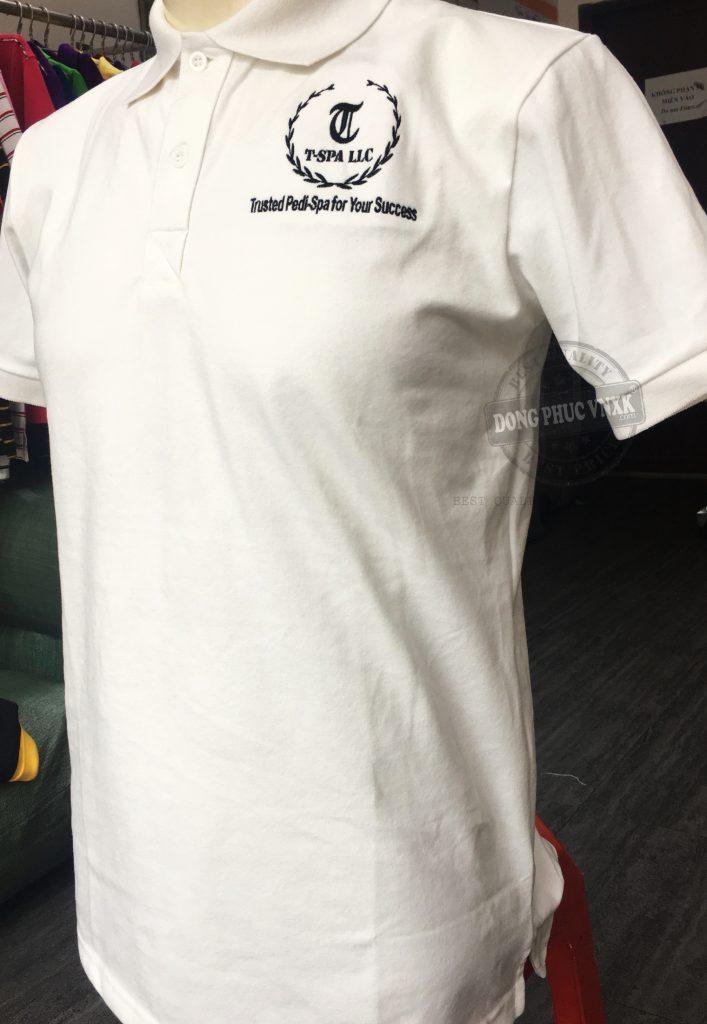 áo thun đồng phục trung tâm t-spa llc