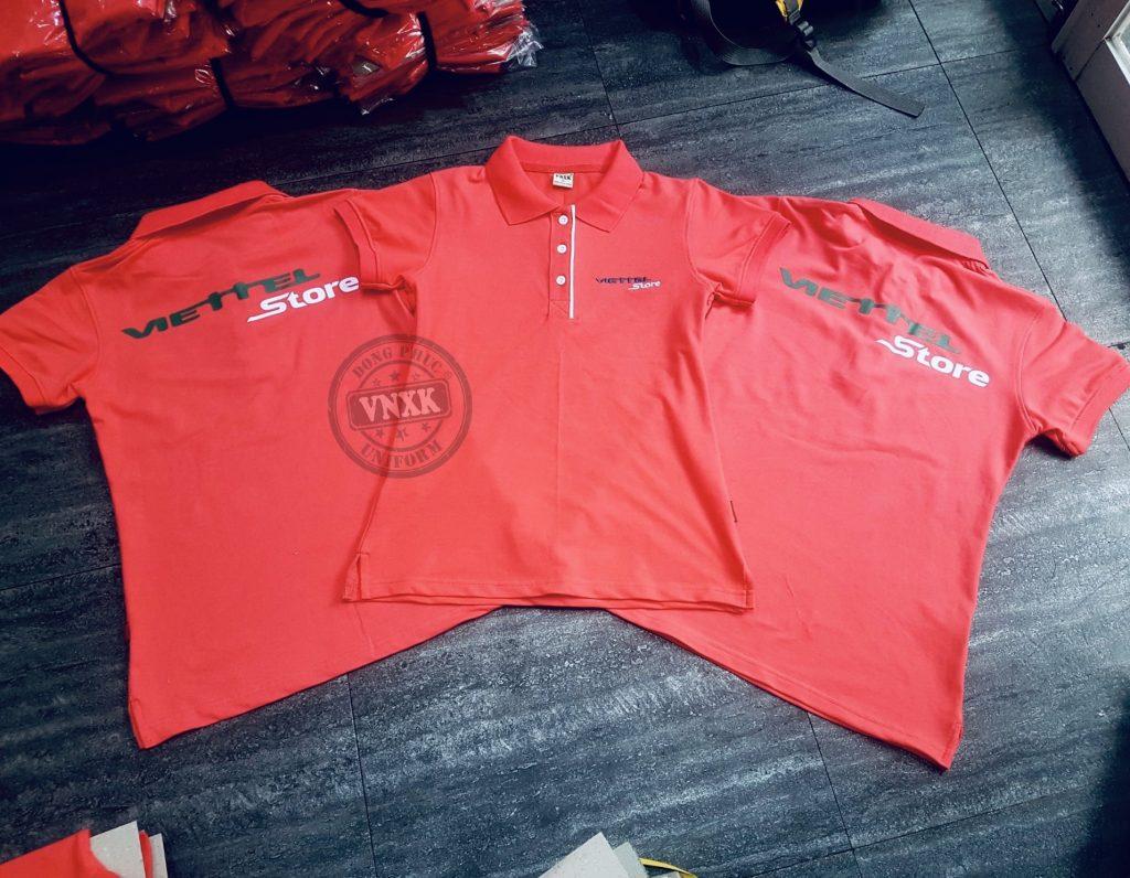 Áo thun đồng phục Viettel Store