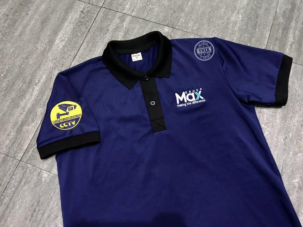 áo thun đồng phục công ty max group