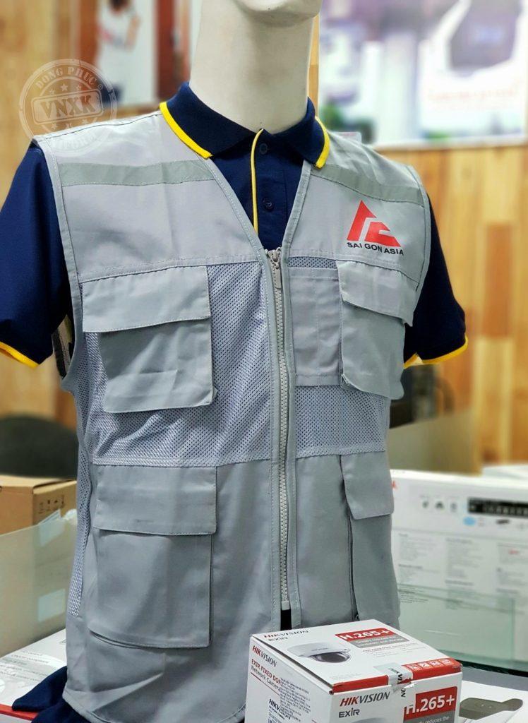 may áo gile bảo hộ lao động
