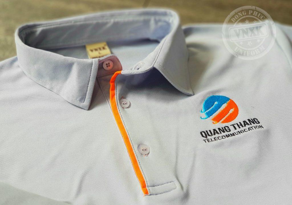 may áo thun đồng phục cty